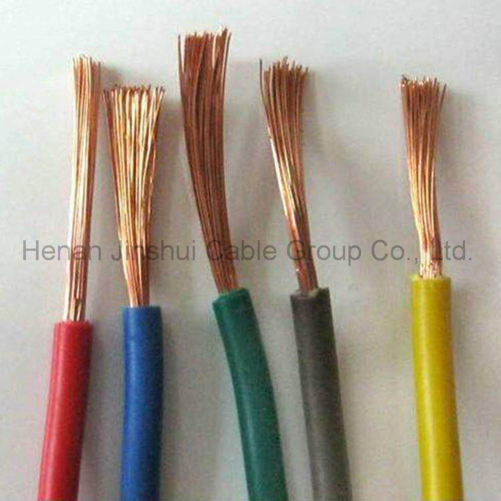Гибкий медный многожильный кабель в пвх изоляции