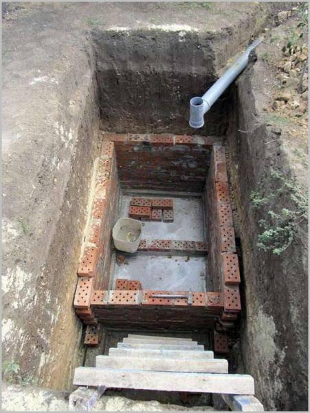 Как самостоятельно очистить выгребную яму без откачки