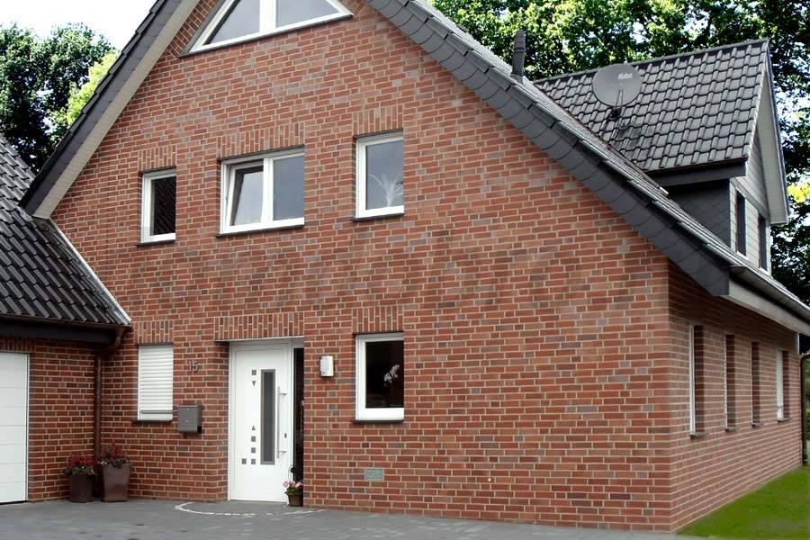 Фасадный клинкерный кирпич: облицовка фасада