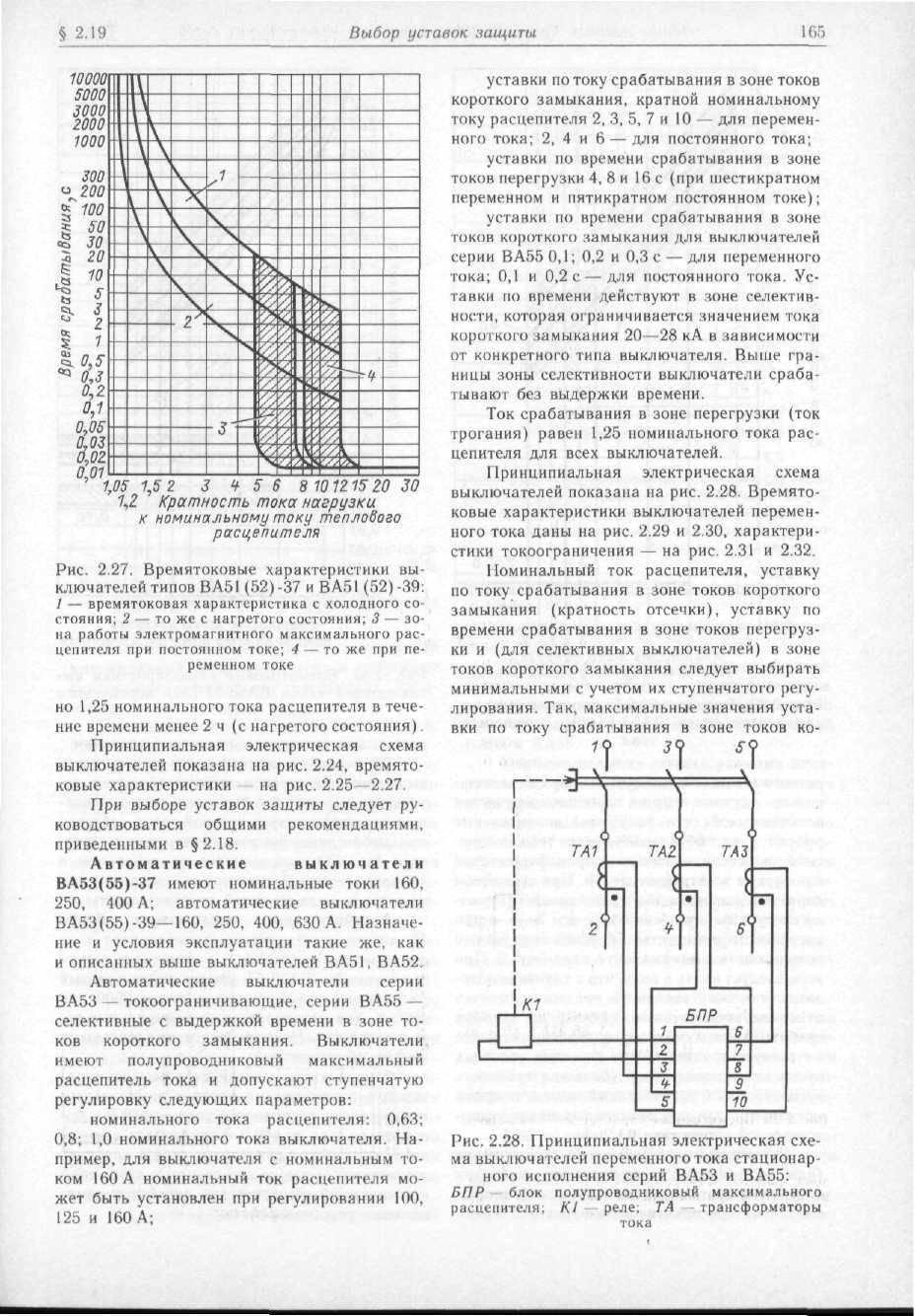 Выбор автоматических выключателей - по току, мощности, нагрузке: таблица, расчет и условия выбора