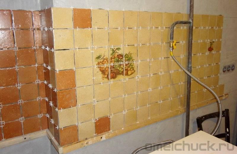 Установка кухонного фартука: как крепить своими руками, особенности монтажа различных материалов