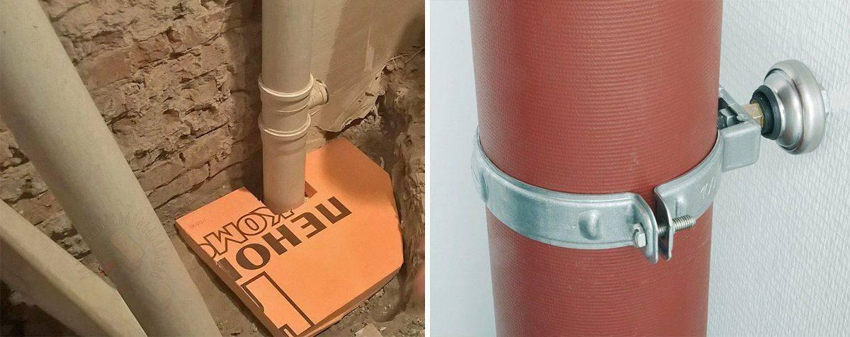 Шумоизоляция канализационного стояка звукоизоляция фановой трубы в квартире, чем шумоизолировать канализацию в туалете