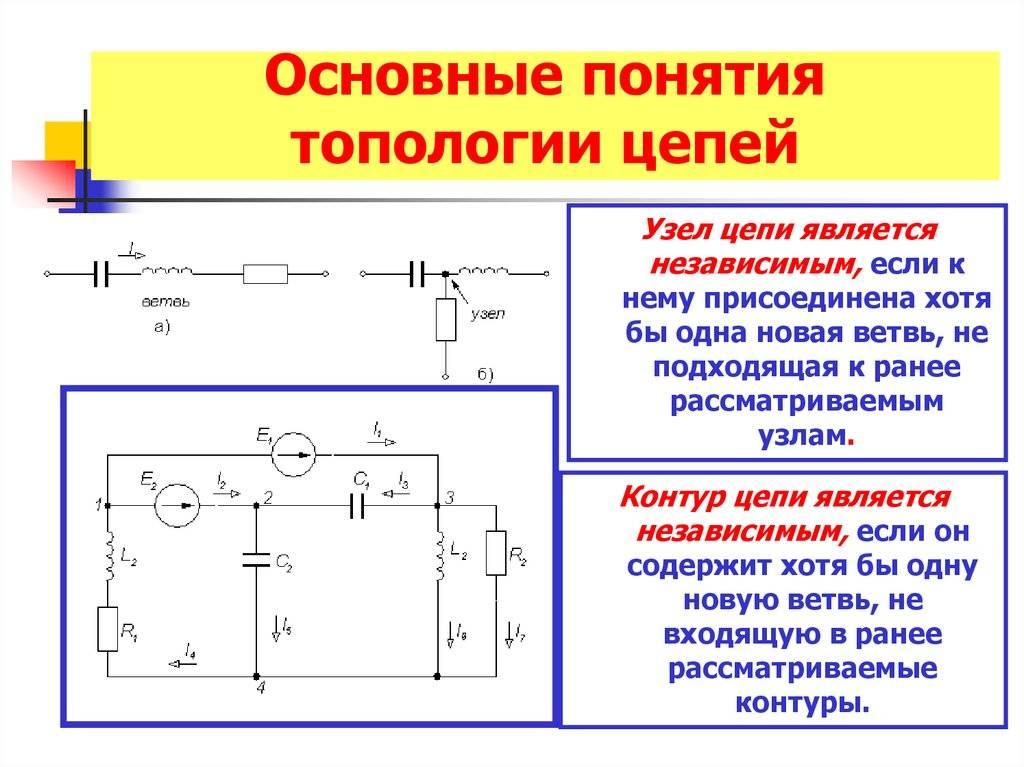 Электрические цепи для чайников: определения, элементы, обозначения