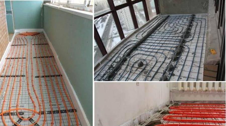 Теплый пол на балконе (ложджии) в квартире - виды, приемущества