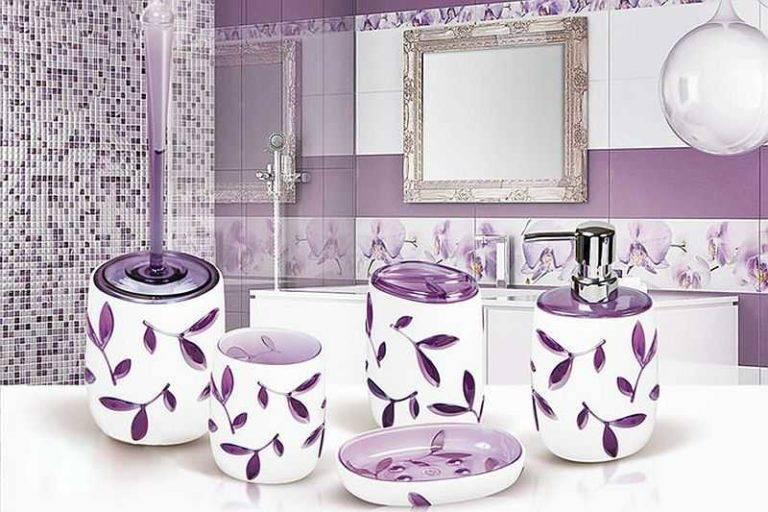 Аксессуары для ванной комнаты - 100 фото новинок в интерьере ванной