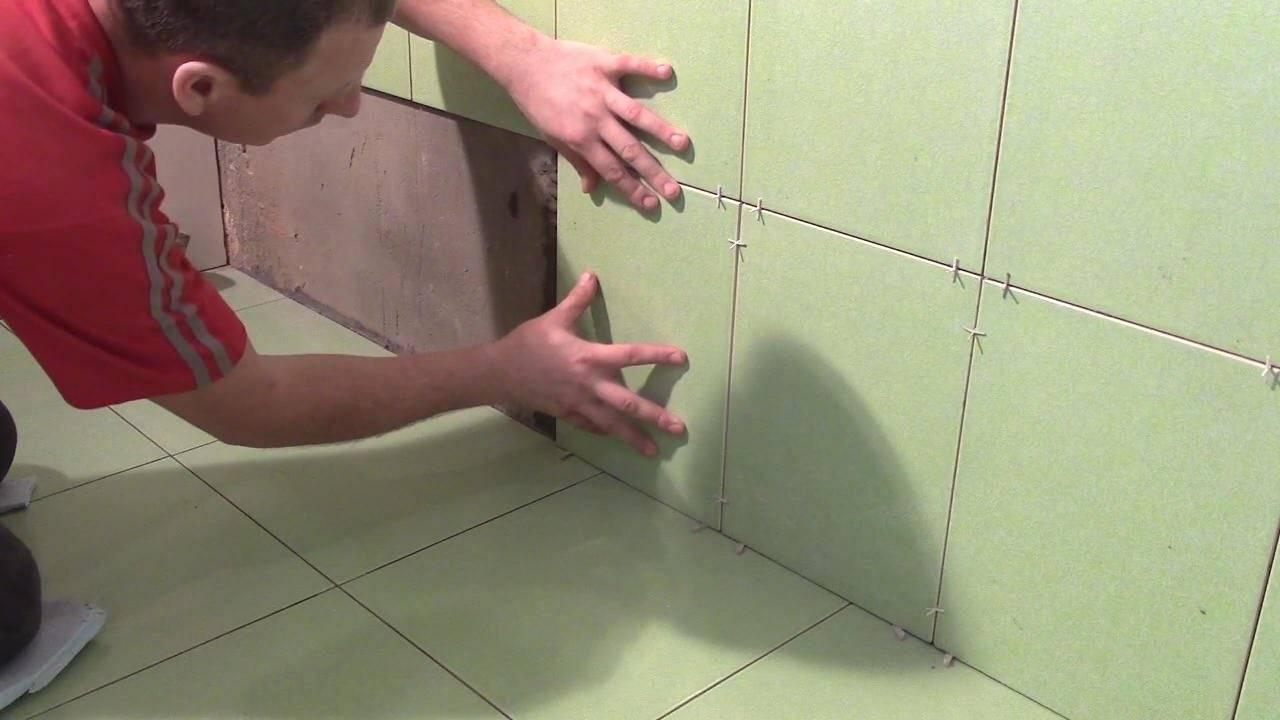 С чего начинать класть плитку в ванной с пола или стен: принципы укладки плитки, подготовка и процесс монтажа