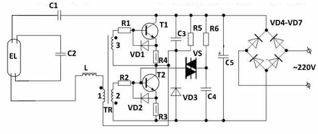 Схемы подключения люминесцентных ламп: обзор популярных методов