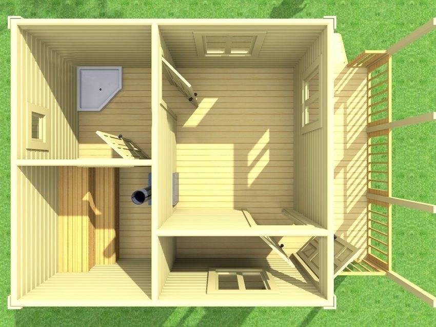 Мини-баня на даче своими руками: маленькие и компактные варианты построек, проекты + фото