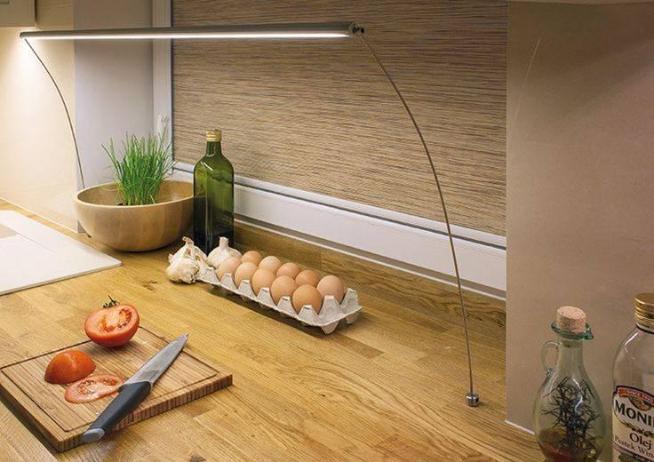 Освещение рабочей зоны на кухне: правила для комфорта | 1posvetu.ru