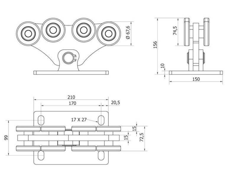 Откатные ворота своими руками (89 фото): установка раздвижных и сдвижных ворот, как сделать чертеж для монтажа