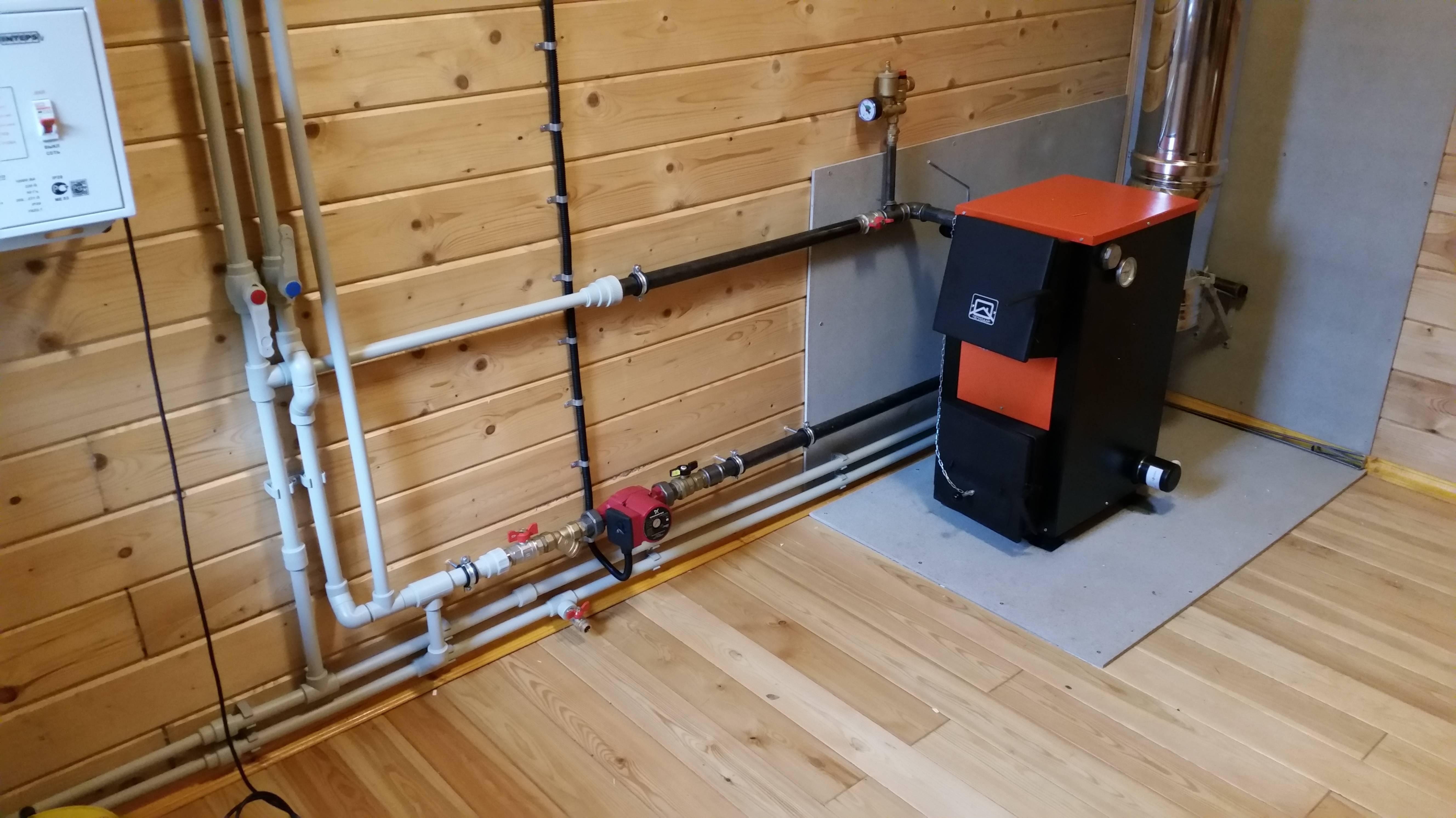 Как выбрать отопление дачного, загородного дома, система и способы