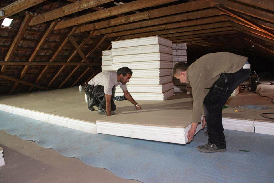 Чем утеплить потолок в частном доме снаружи