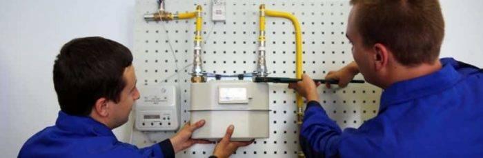 Правила установки газовых счетчиков в частном доме – все о газоснабжении