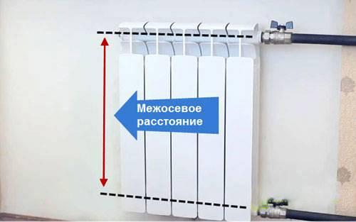 Радиаторы отопления размеры по высоте и длине   всё об отоплении