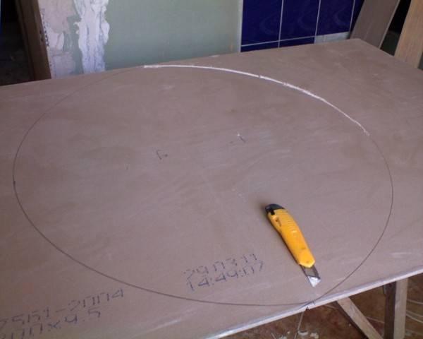 Как резать гипсокартон? чем резать гипсокартон? - резка гипсокартона правильно и лучше