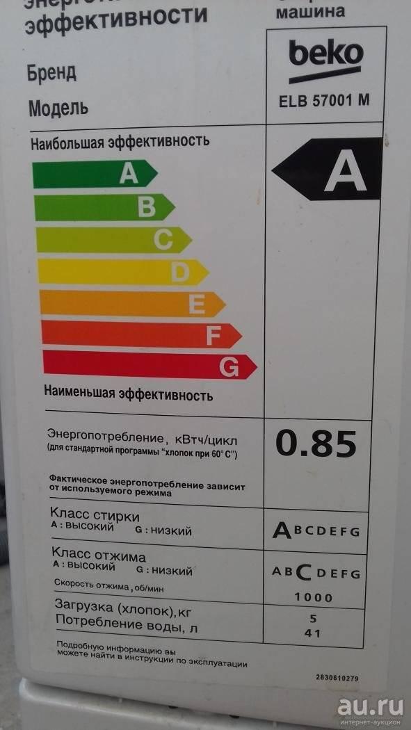 Классы стирки в стиральных машинах: какой лучше? что означают классы энергопотребления и эффективности стирки? максимальная скорость для разных классов
