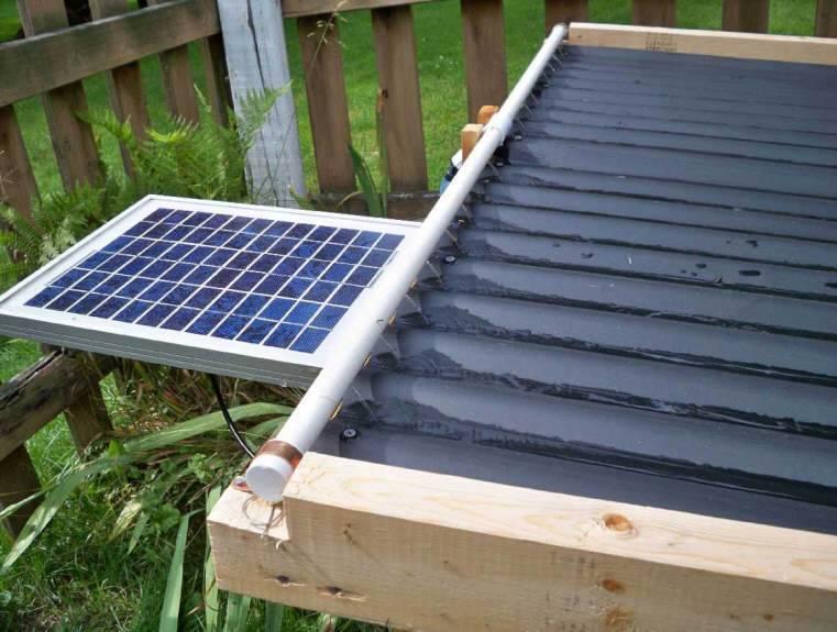 Солнечный коллектор для отопления, концентраторы, комплект воздушных батарей, система своими руками, работающая с помощью энергии
