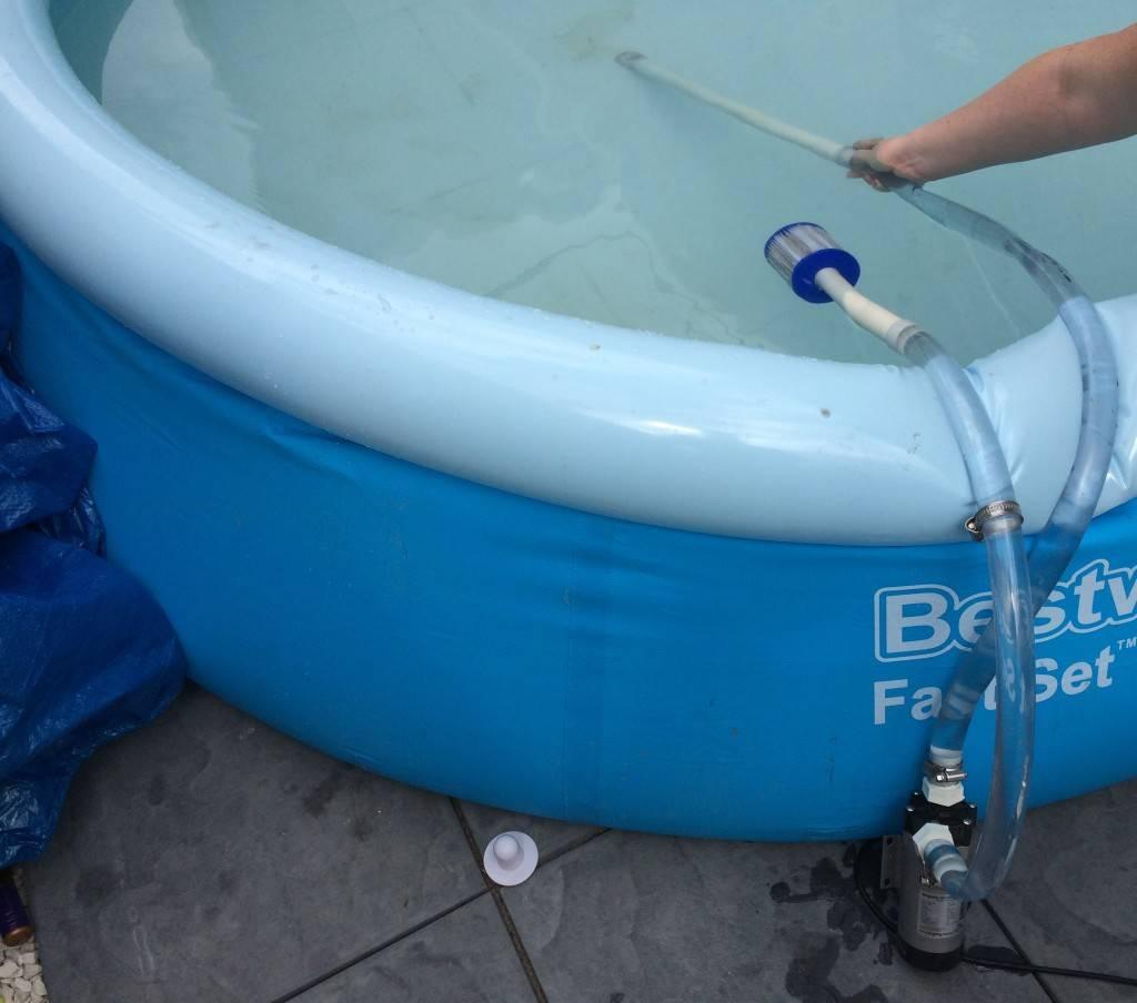 Пылесос для бассейна своими руками: из канализацинной и пластиковой трубы
