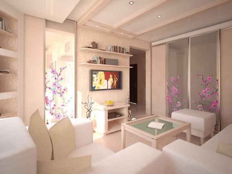 Дизайн маленьких квартир (25 фото)   «печёный»
