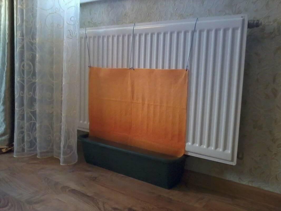 Как увлажнить воздух в комнате без увлажнителя?