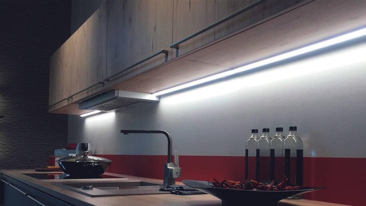 Как организовать освещение для подсветки рабочей зоны на кухне