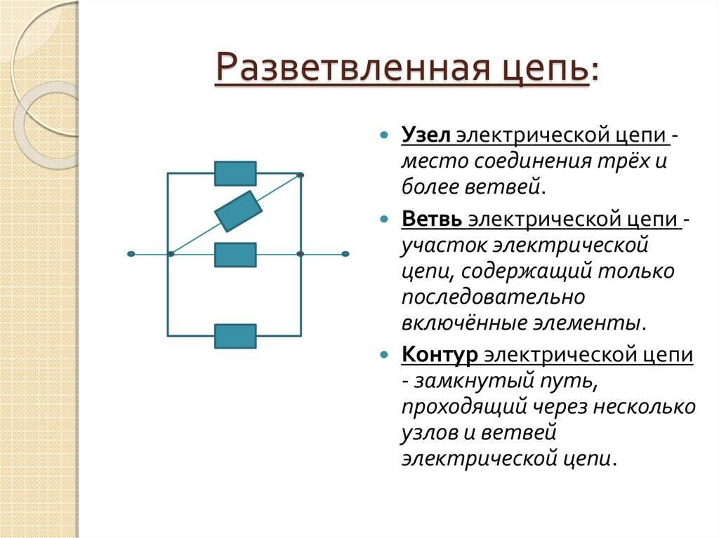 Электрическая цепь и её составные части: основные элементы, пример простейшей схемы