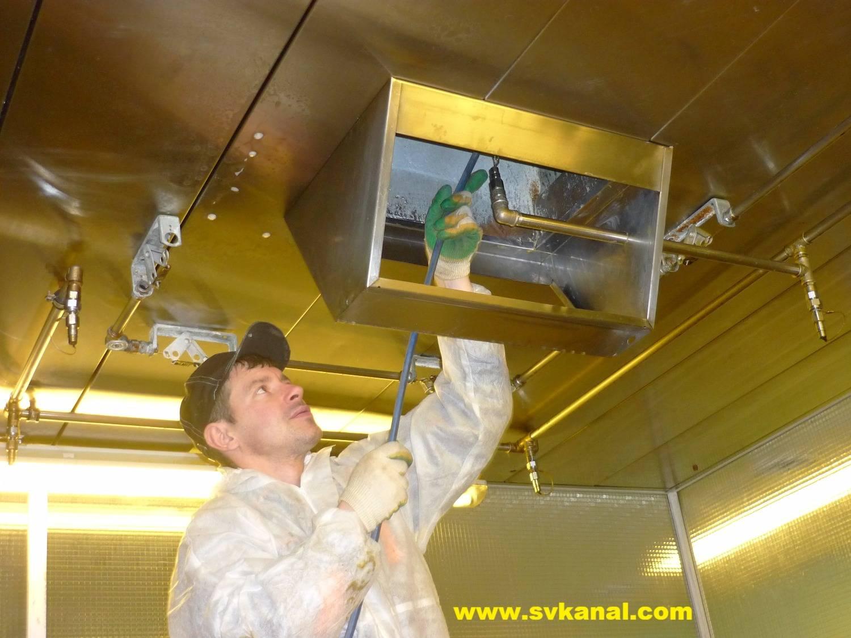 Чистка воздуховодов вентиляции: правила дезинфекции, цены
