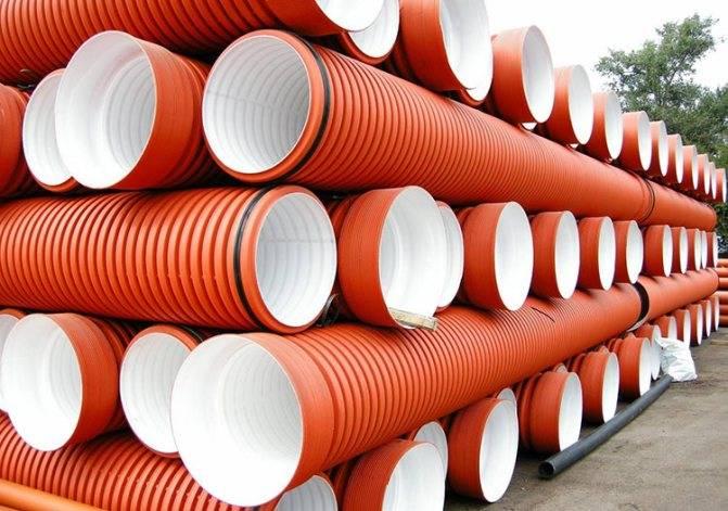 Полиэтиленовые трубы для канализации: технические характеристики, маркировка, материалы