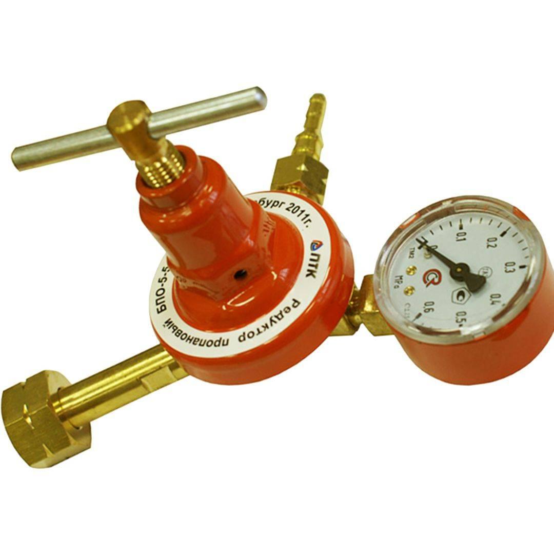 Что такое редуктор для газового баллона — устройство и работа прибора с регулятором давления
