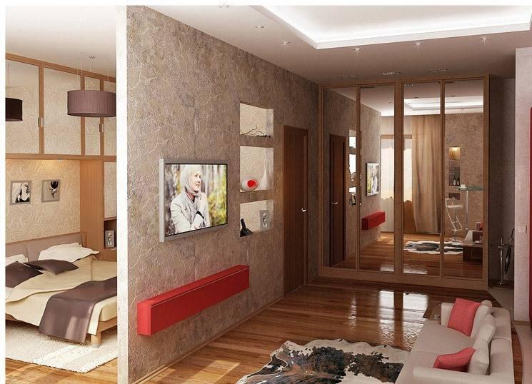 Перепланировка однокомнатной квартиры в двухкомнатную и не только: примеры и проекты для разной квадратуры с фото