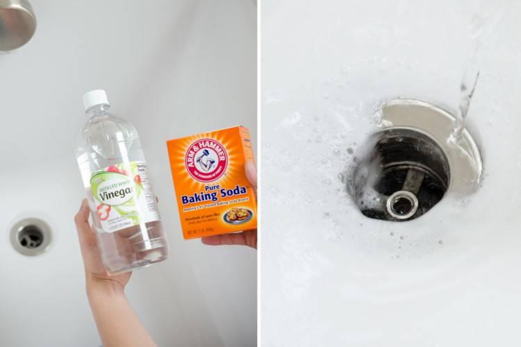 Уксус и сода для прочистки труб: 3 самых эффективных способа