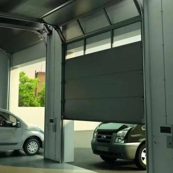 Особенности выбора секционных гаражных ворот