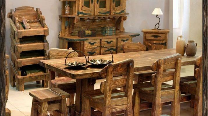 Мебельизмассивадеревасвоимируками - лучшие идеи + мастер-класс!