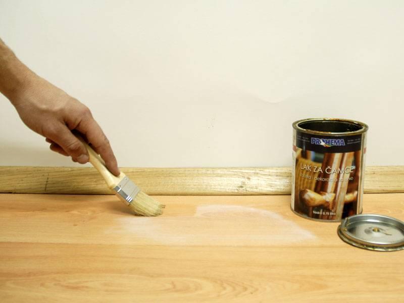 Как и чем произвести покраску имитации бруса внутри помещения