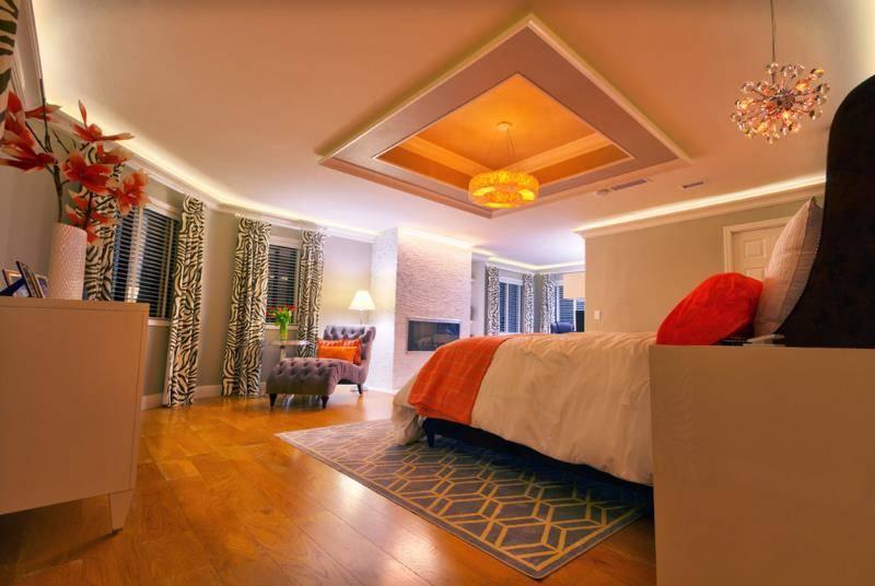 Освещение потолочное: подсветка потолка в интерьере, варианты, идеи встроенного освещения, красивый свет