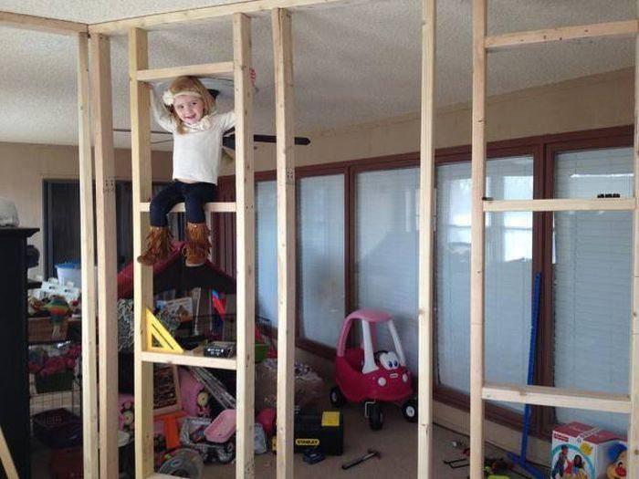 Детский домик своими руками: фото-идеи и порядок работ