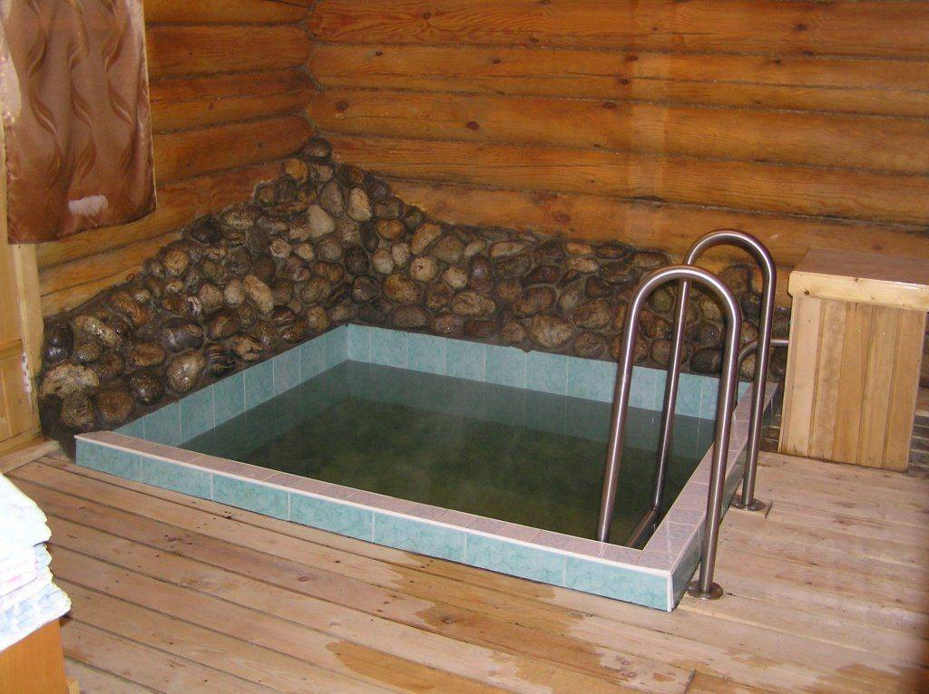 Бассейн в бане своими руками [как сделать]: пошаговое руководство