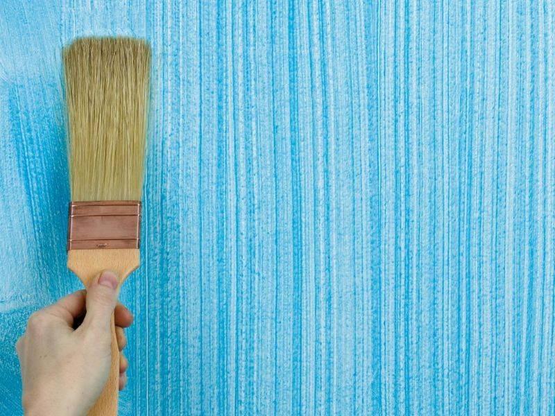 Текстурная краска для стен: виды наполнителей, эффекты, нанесение
