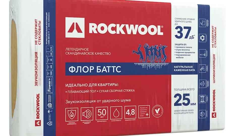 Роквул флор баттс: характеристики, плюсы и минусы, сфера применения