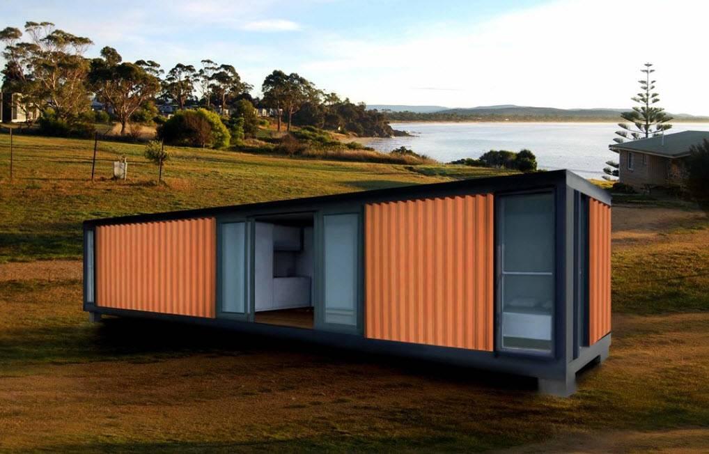 Дома из контейнеров - 106 фото примеров