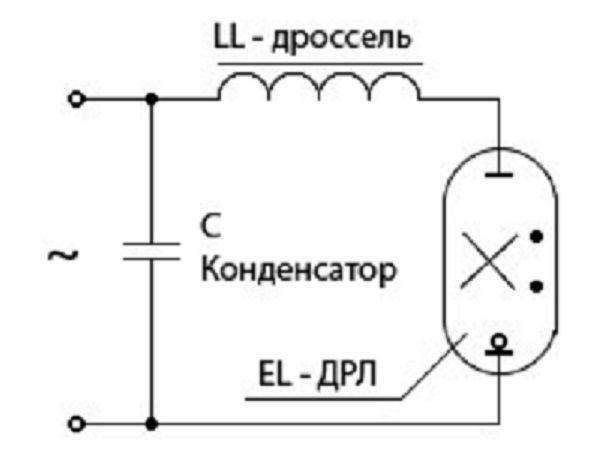 Лампа дрв: отличие дрл и дрв, расшифровка, технические характеристики