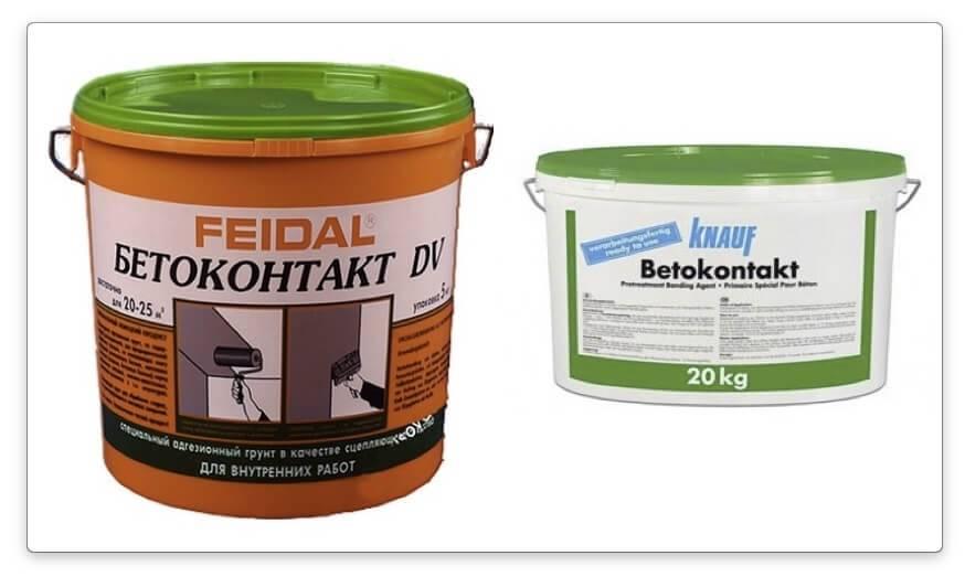 Применение бетоноконтакта: состав, особенности и достоинства применения