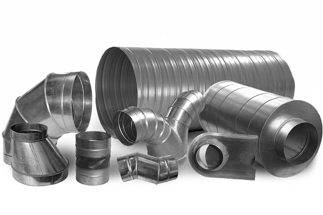Воздуховоды, фасонные изделия и оборудование для систем вентиляции