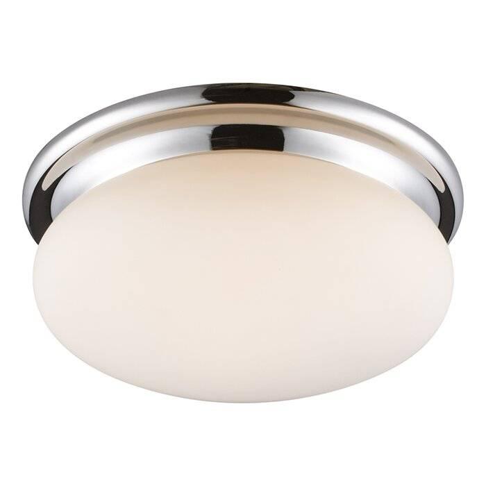 Какие выбрать светильники для ванной с натяжным или гипсокартонным потолком: бра, встроенные, точечные или люминесцентные?