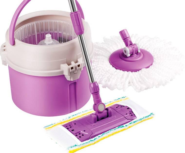 Швабра для мытья пола: с отжимом, микрофиброй, как выбрать