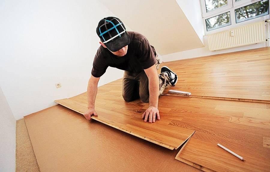 Отделка стен ламинатом - способы крепления, укладка своими руками - строительство и ремонт