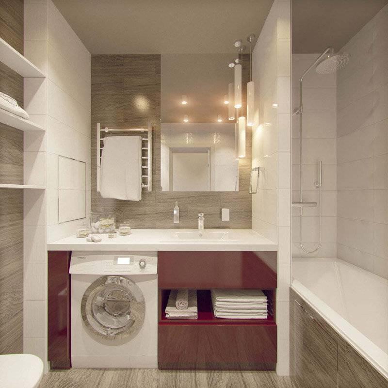 Ванная 3 кв. м. — 120 фото идеальных решений дизайна для ванных комнат скромных размеров
