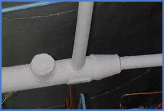 Как утеплить трубы отопления