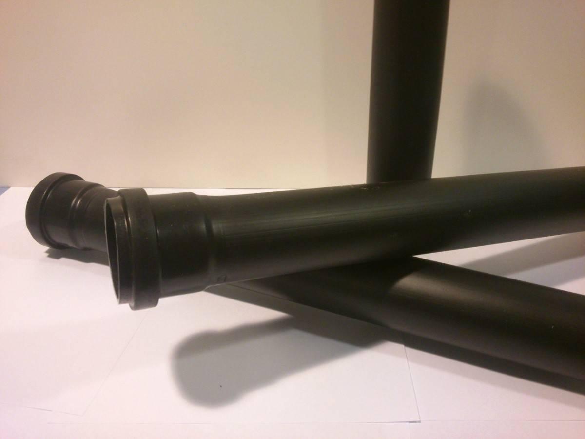 Труба черная канализационная чем отличается от серой