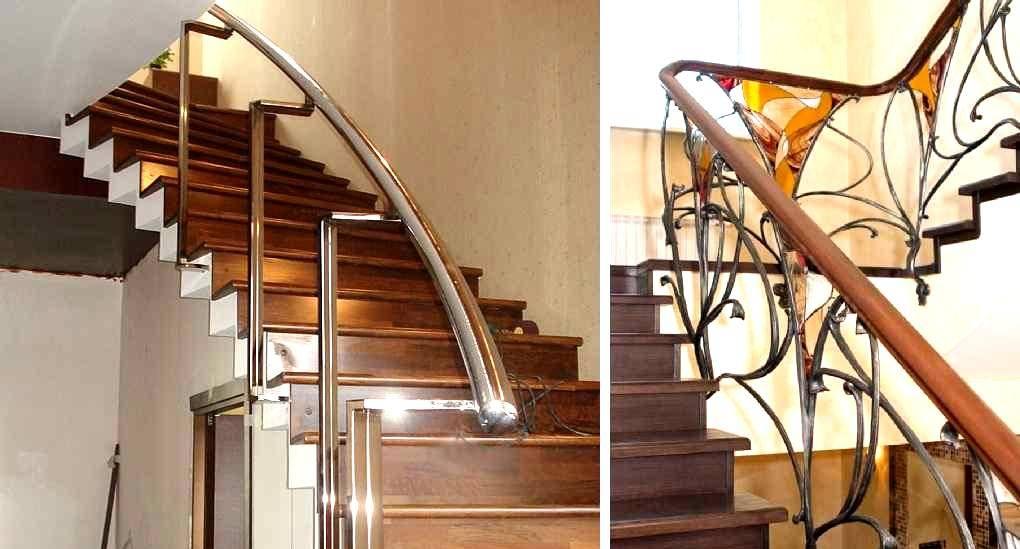Ограждение для лестниц: красивый и безопасный интерьер